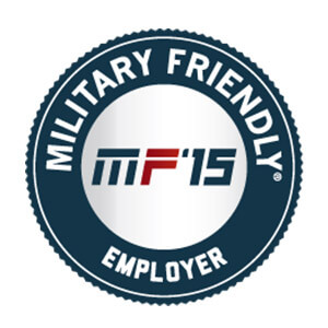 Military Friendly Employer Award 2017