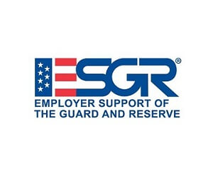 ESGR support employer logo