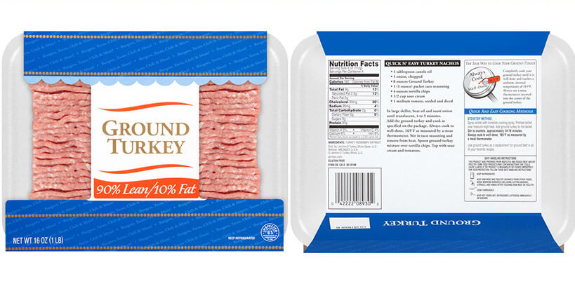 2018 Ground Turkey Packaging