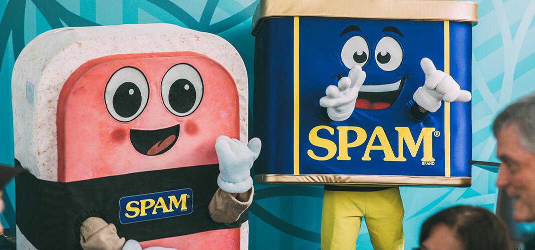 SPAM Mascots