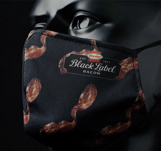 Black Label Bacon Masks