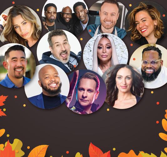 Star-Studded Virtual Friendsgiving Tuesday, November 24