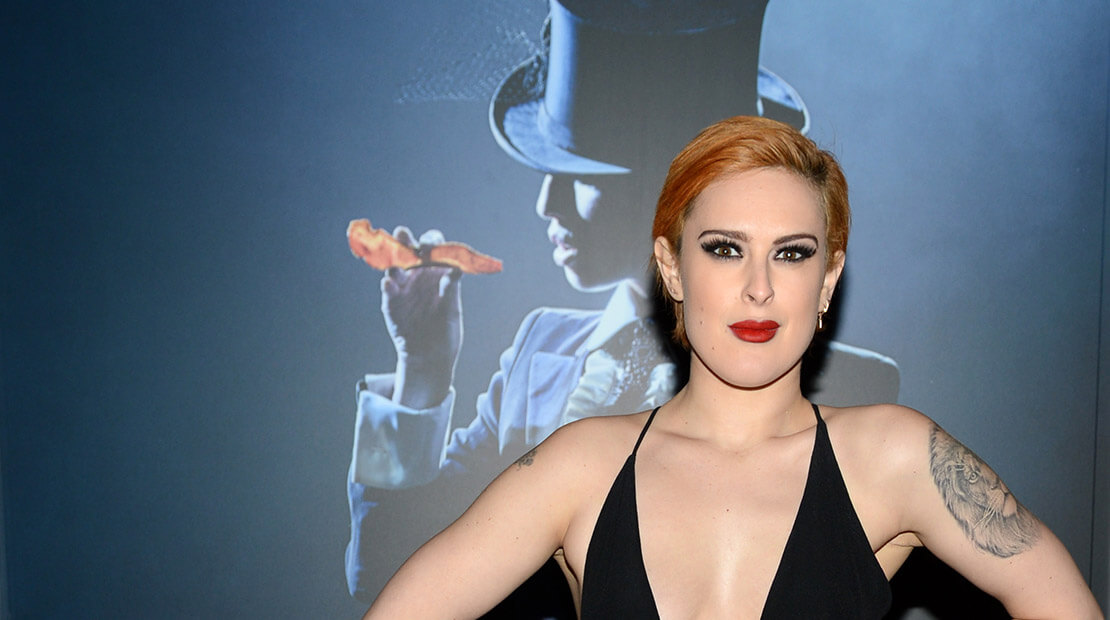 Rumer Willis Black Label Bacon Strip Show