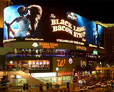 Black Label Bacon Strip Show
