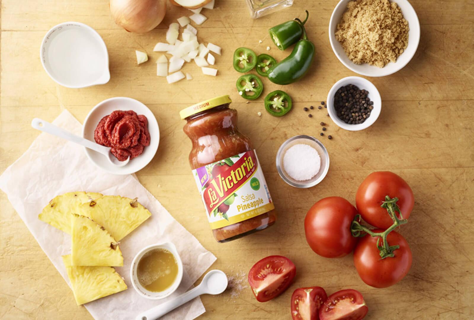 La Victoria<sup>®</sup> Mild Pineapple Salsa