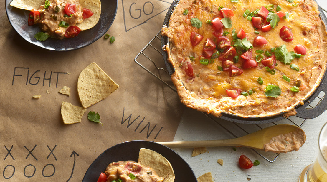 King Ranch Chicken Dip