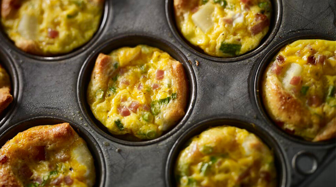 Ham Mini Quiches