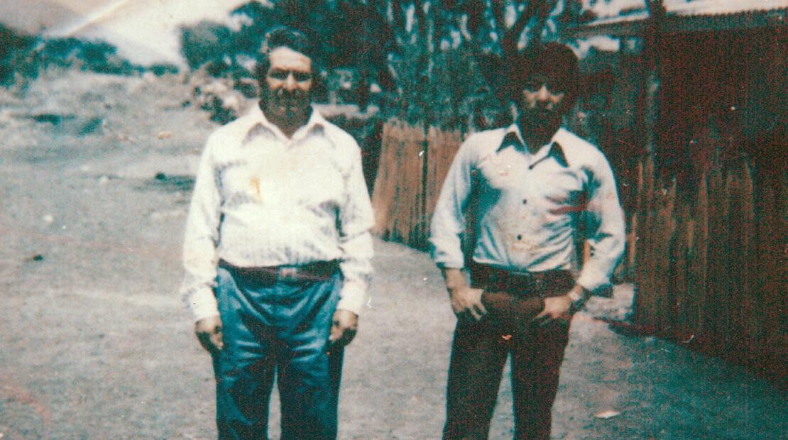 Raymundo Mendoza-Araujo & Dad
