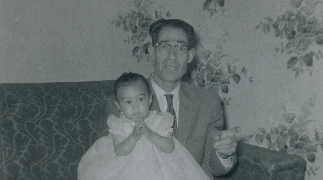 Cathy Leslie & Dad