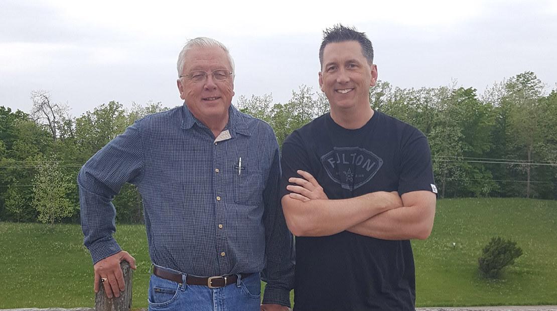 Jay Maxwell & Dad
