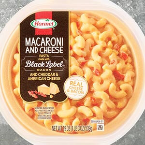 Hormel® macaroni & cheese with Hormel® Black Label® bacon