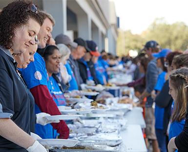 Hurricane Harvey Holiday Meal