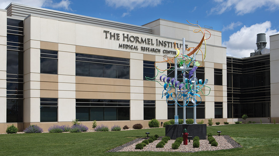 The Hormel Institute in Austin, Minn., a cutting-edge research facility focused on better ways to prevent, detect and treat cancer.