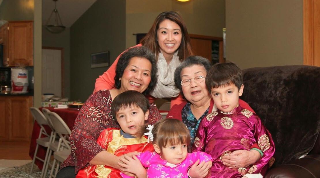 Jen Dao & family