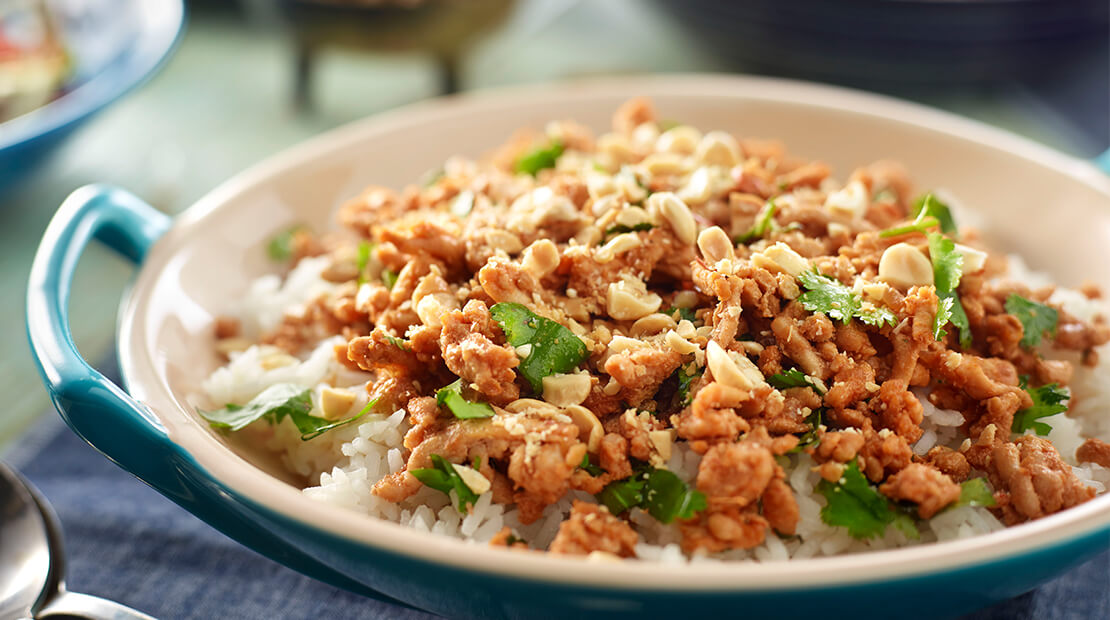 Turkey Peanut Stir-Fry