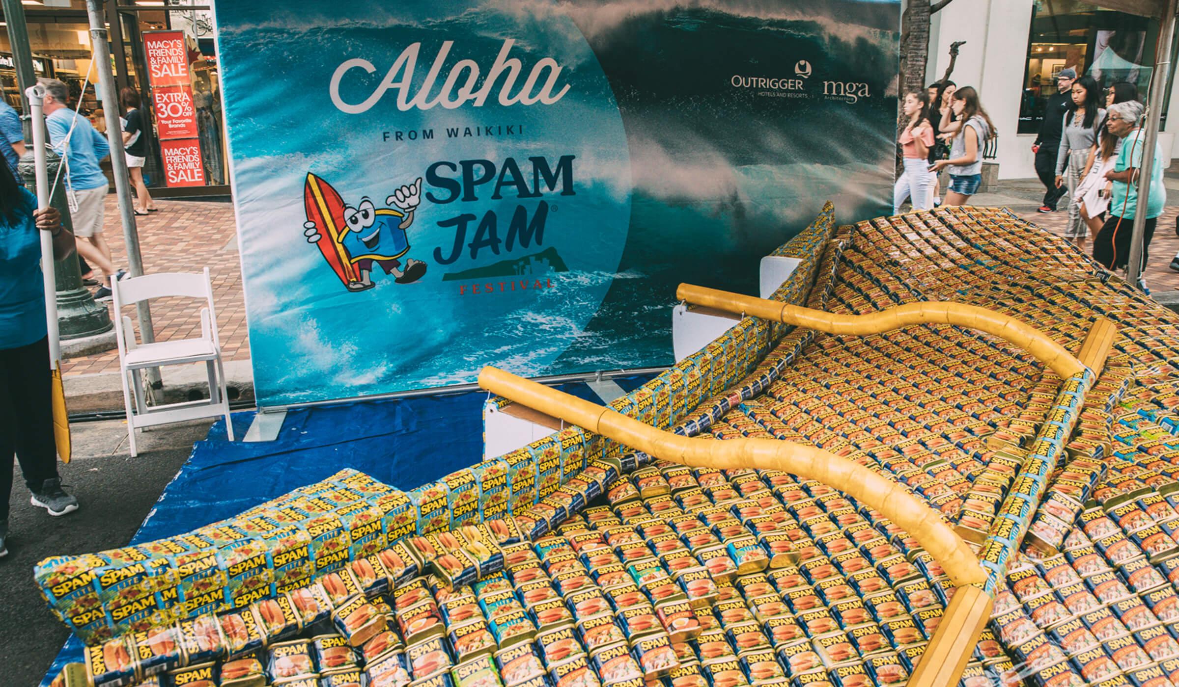 SPAM JAM® Festival promo design