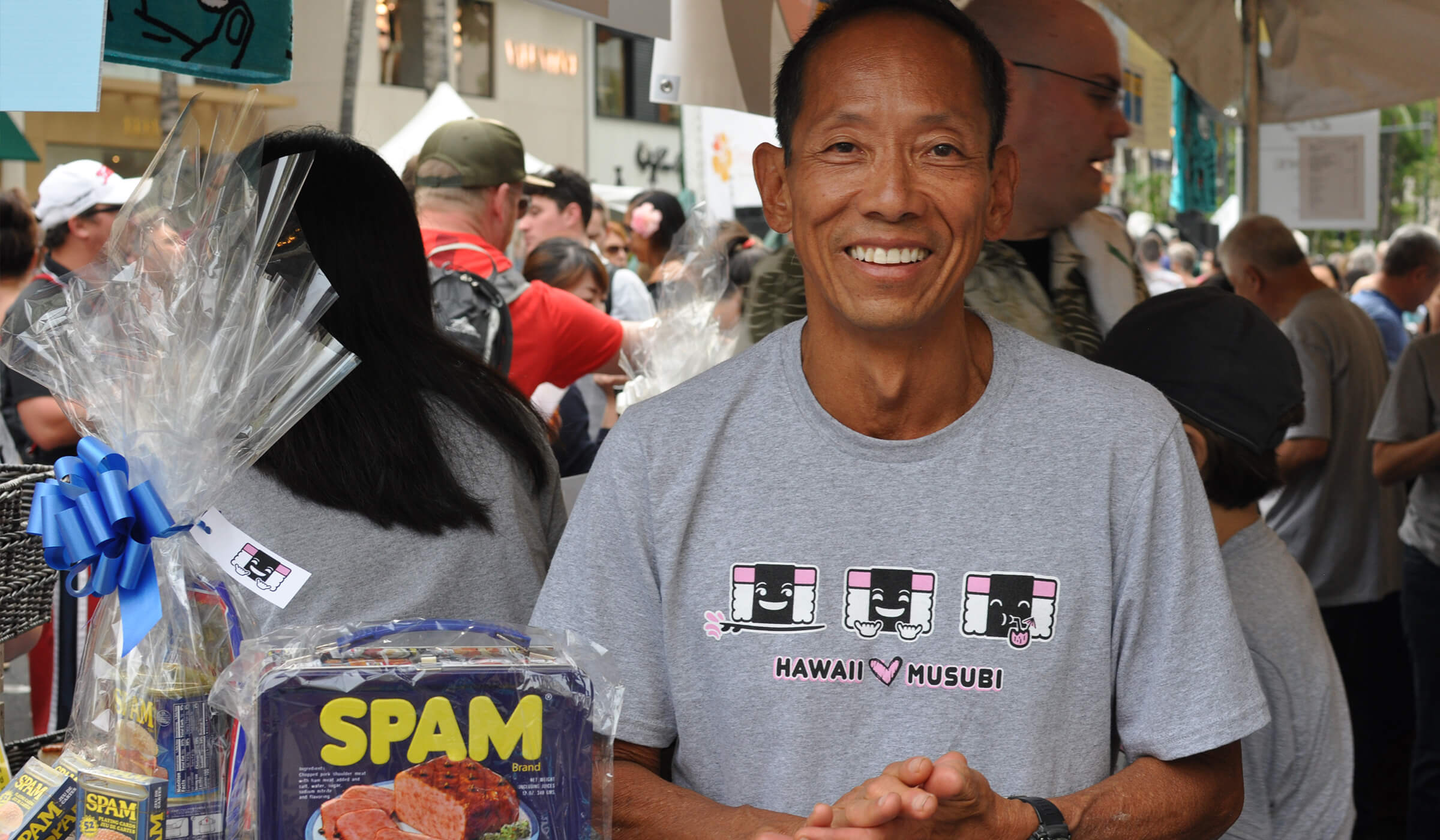 Attendee at SPAM JAM® Festival