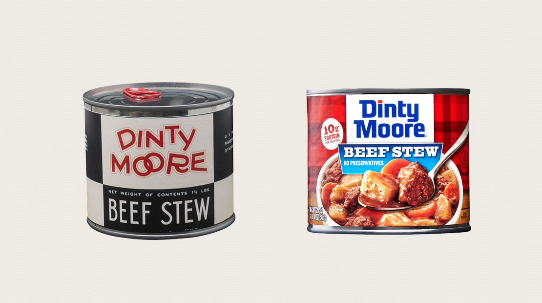 Dinty Moore Cans