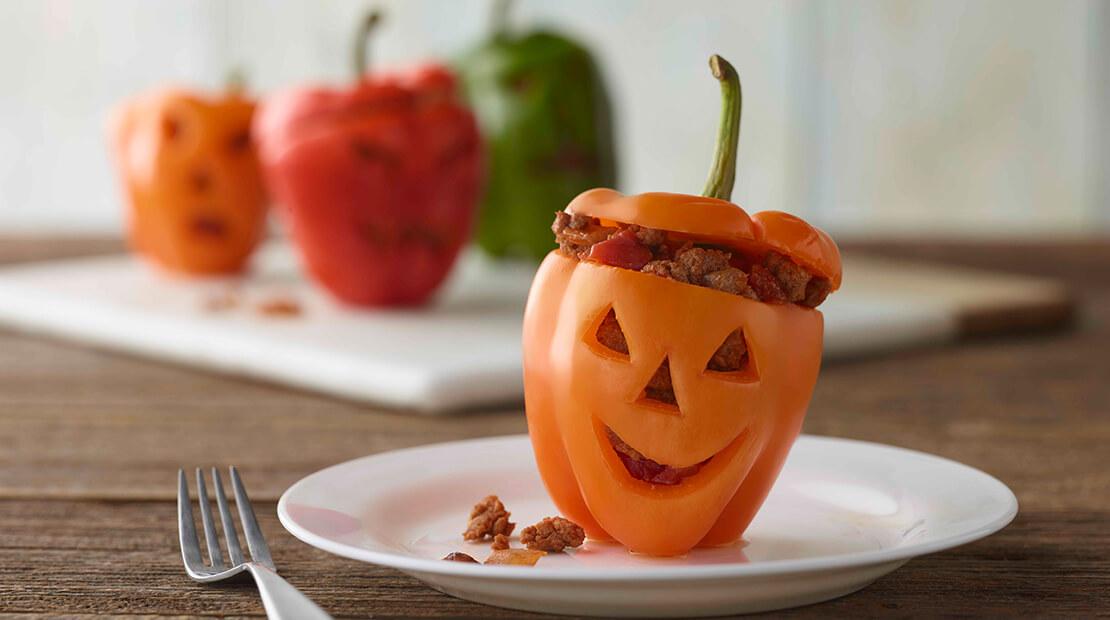 Halloween Taco Turkey Peppers