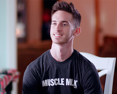 Inspired Fan Brendon Muscle Milk