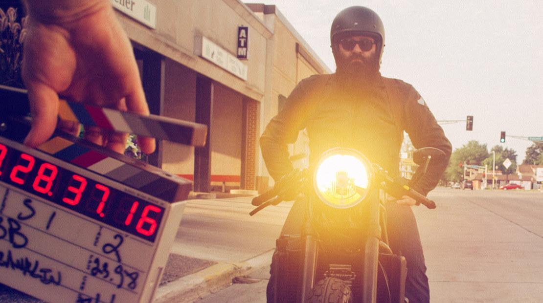 Black Label Bacon Motorcycle