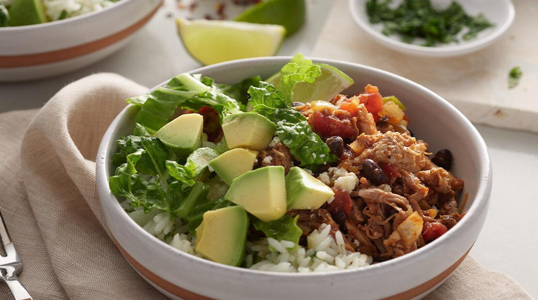 Pork Burrito Bowl