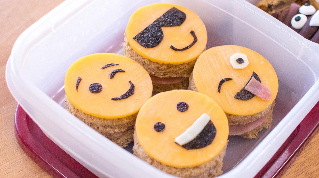 Emoji Sandwiches