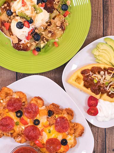 Waffles 3 Ways