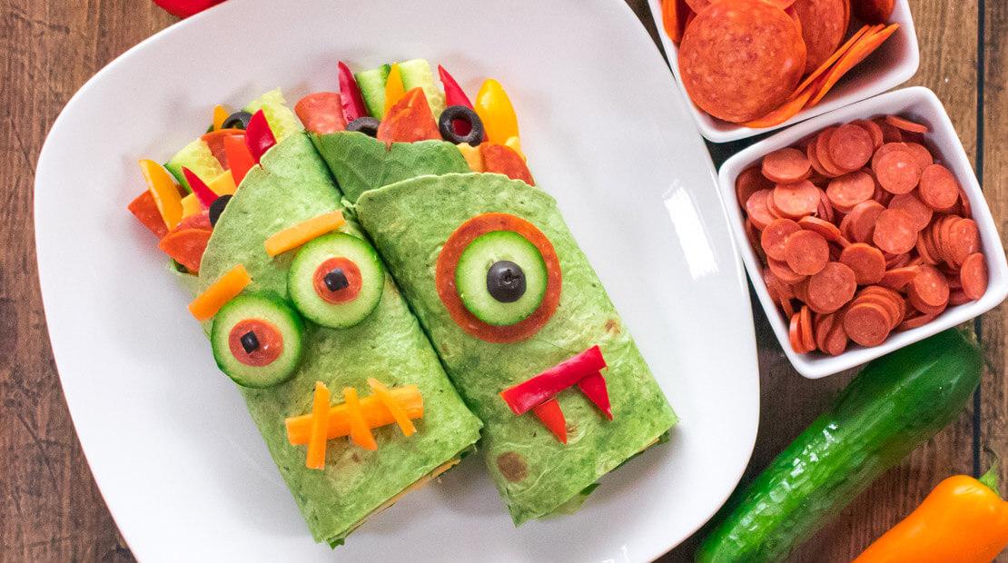 Monster Pepperoni Wraps