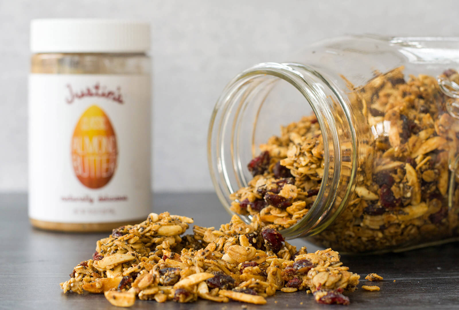 Easy Nut-Butter Granola