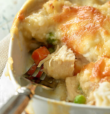 Pot Pie meal planning