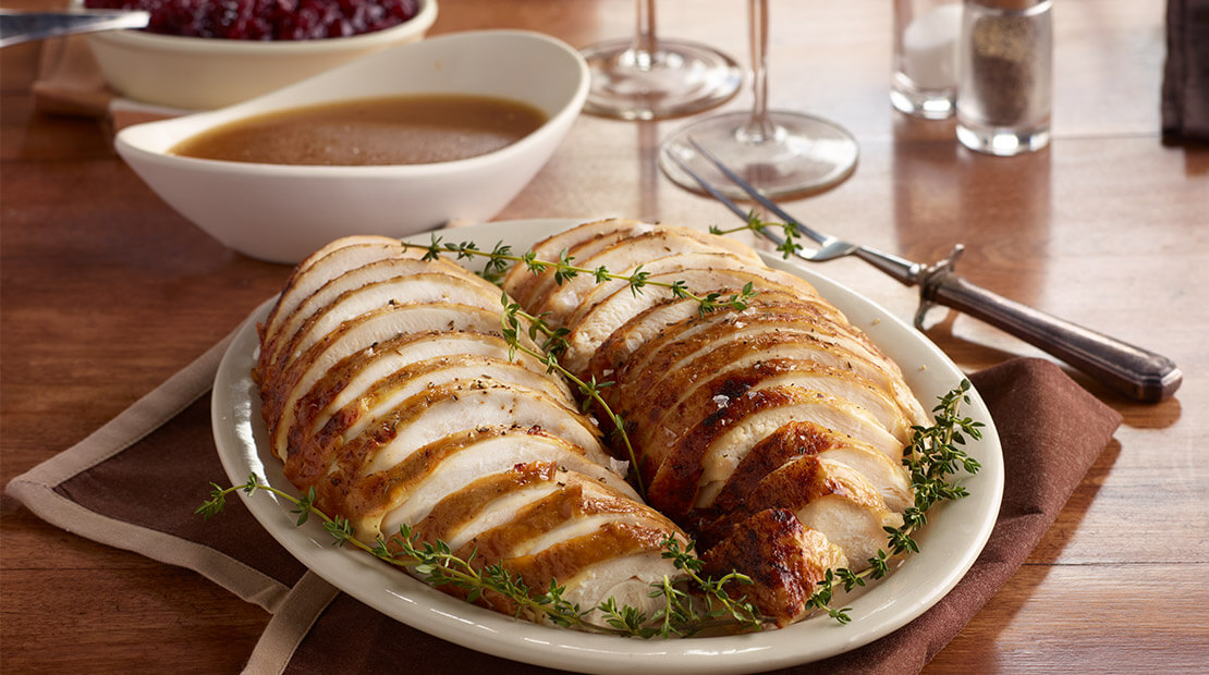 Easy Oven-Roasted Turkey Breast
