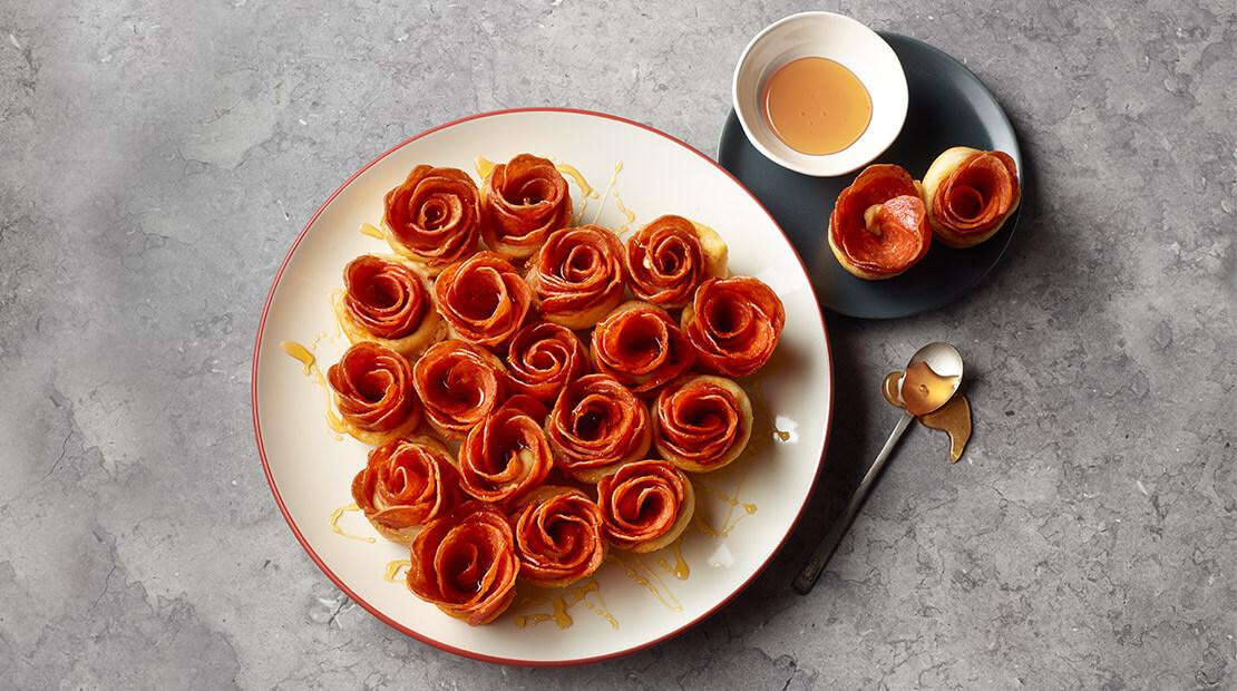 Pepperoni Roses