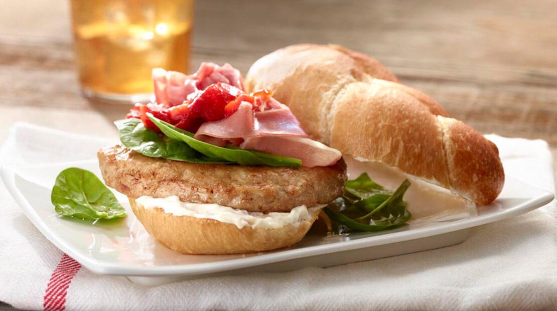 Saltimbocca Turkey Burger