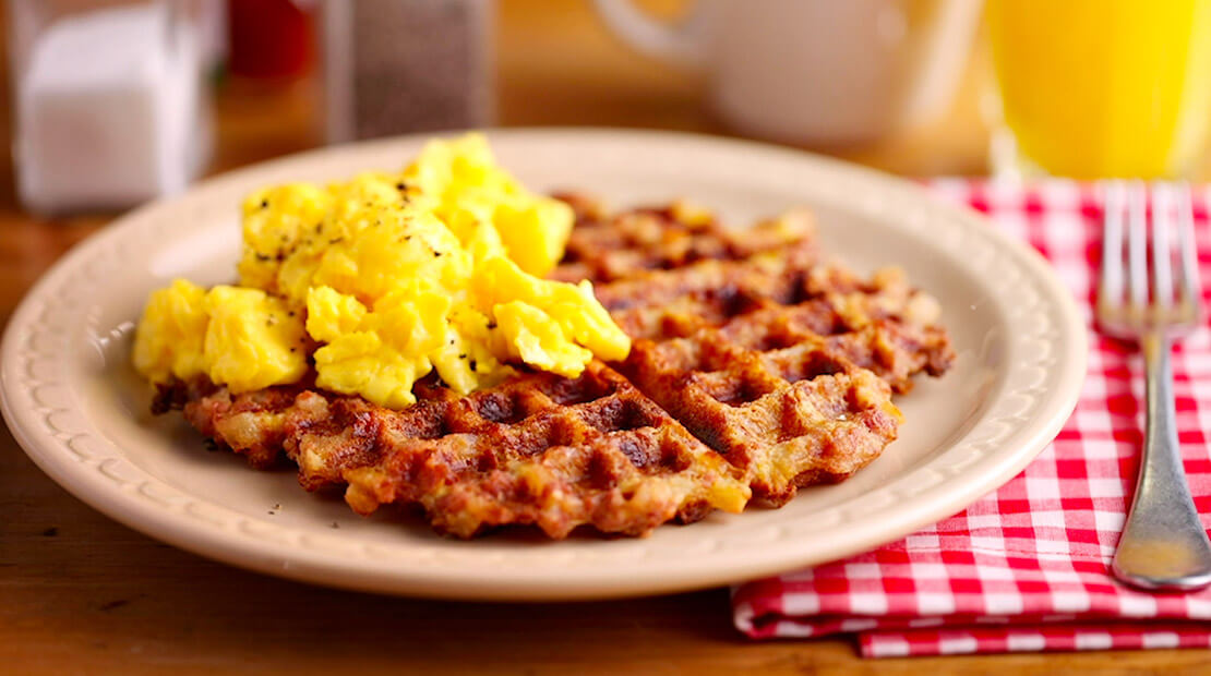 HORMEL® MARY KITCHEN® Corned Beef Hash Waffles