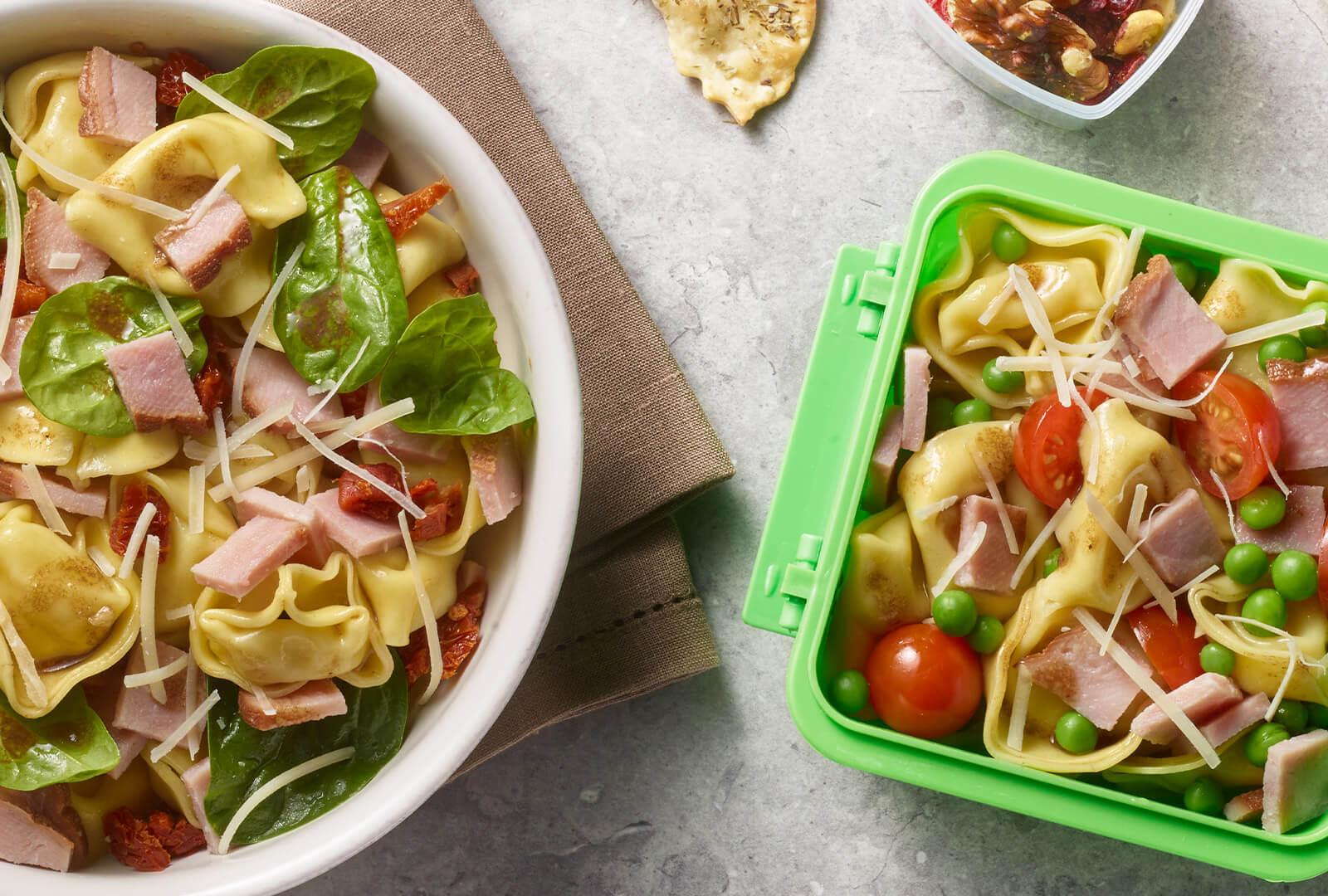 Tortellini Salad Two Ways