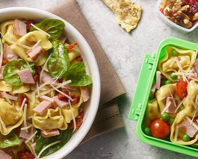 Tortellini Salad 2 Ways