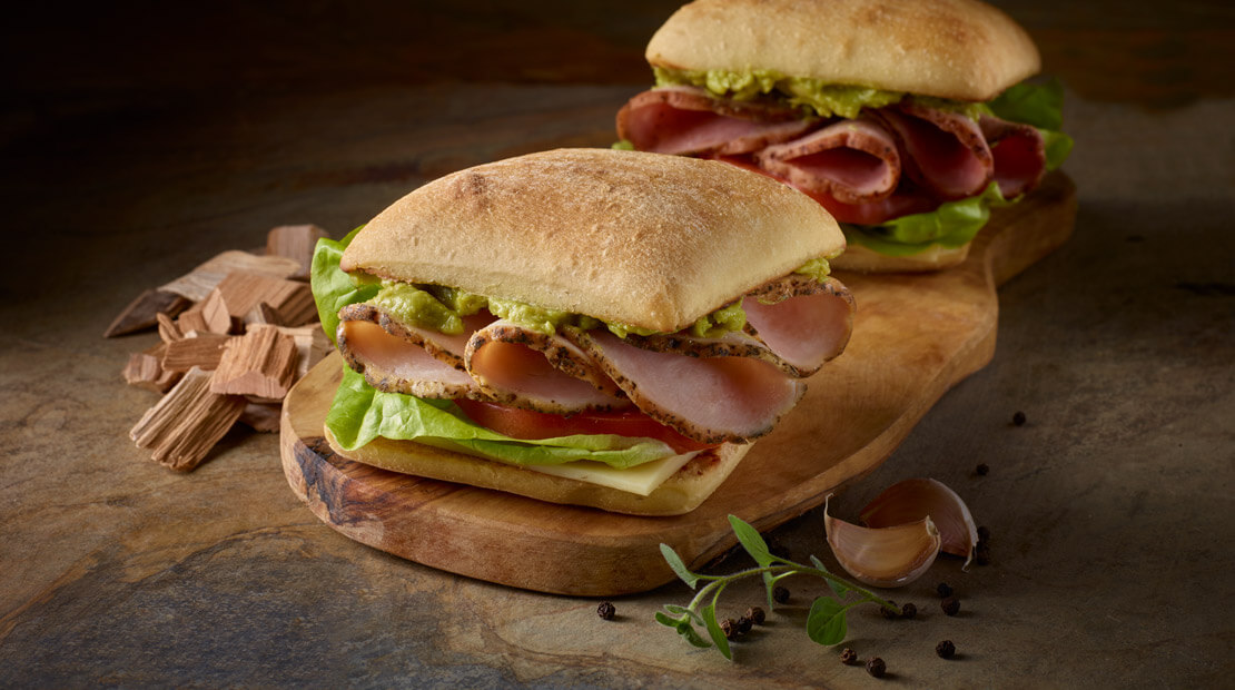 Smoked Ciabatta Sandwich From Moe Cason