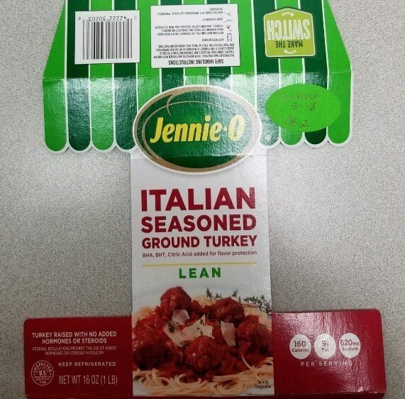 Jennie-O ITALIAN SEASONED GROUND TURKEY
