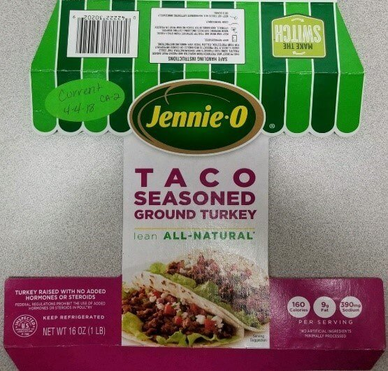 Jennie-O TACO SEASONED GROUND TURKEY
