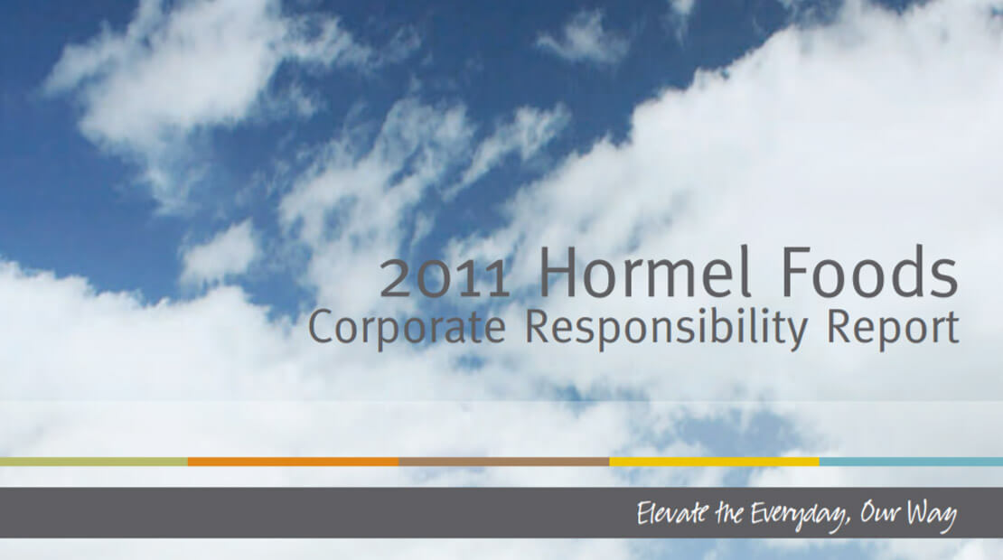 2011 Corporate Responsibility Report