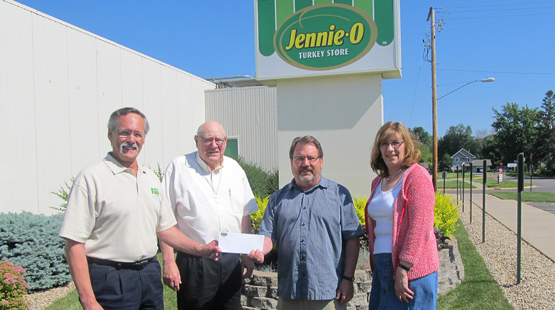 2013 Jennie-O Faribault Donation