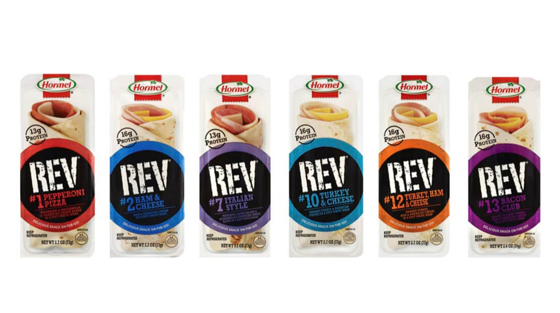 Hormel REV wraps