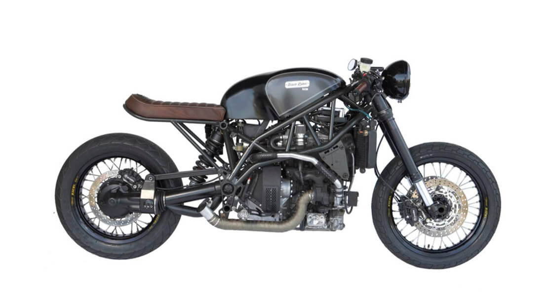 Black Label Bacon Motorcycle