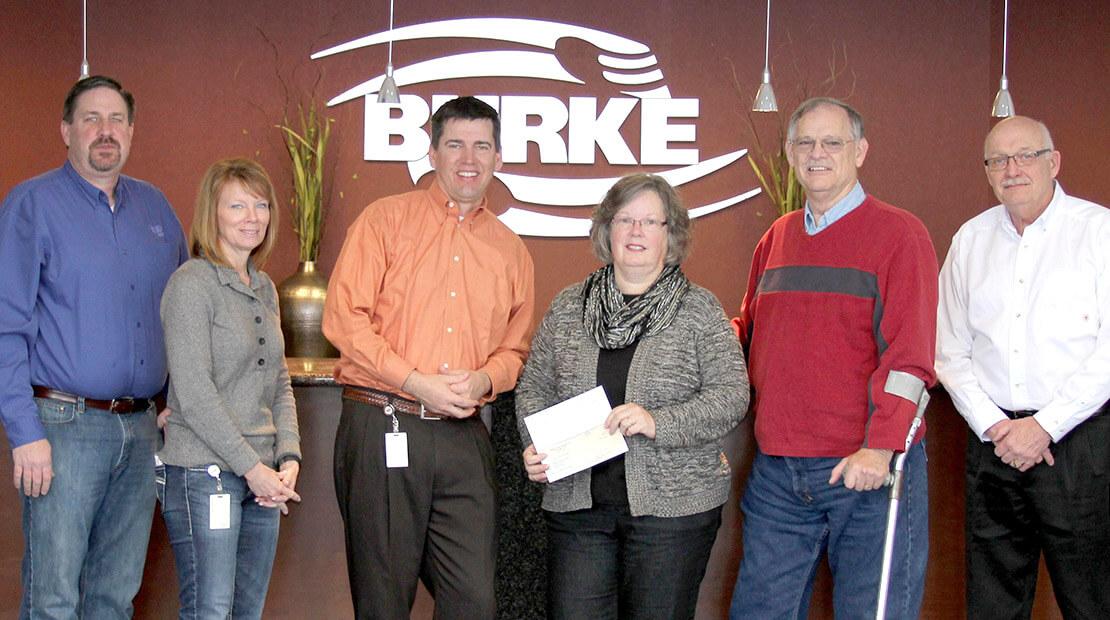 2014 Burke Corp Donation