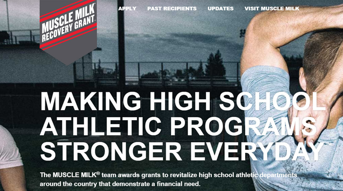 Muscle Milk Recovery Grant Program