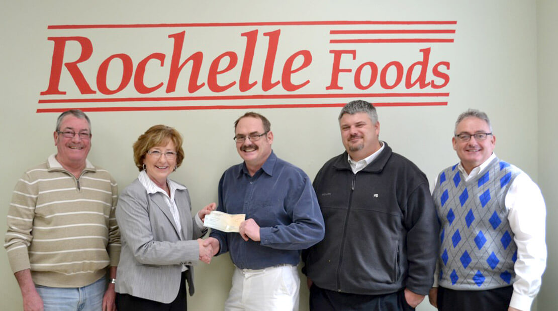 2014 Rochelle Foods Donation