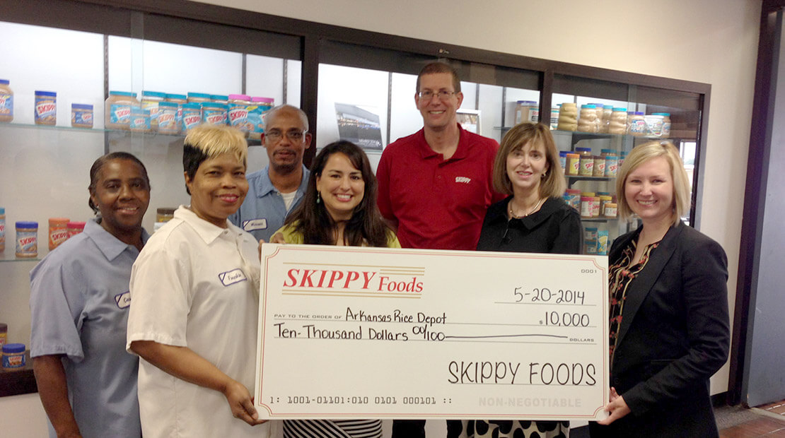 2014 SKIPPY donation