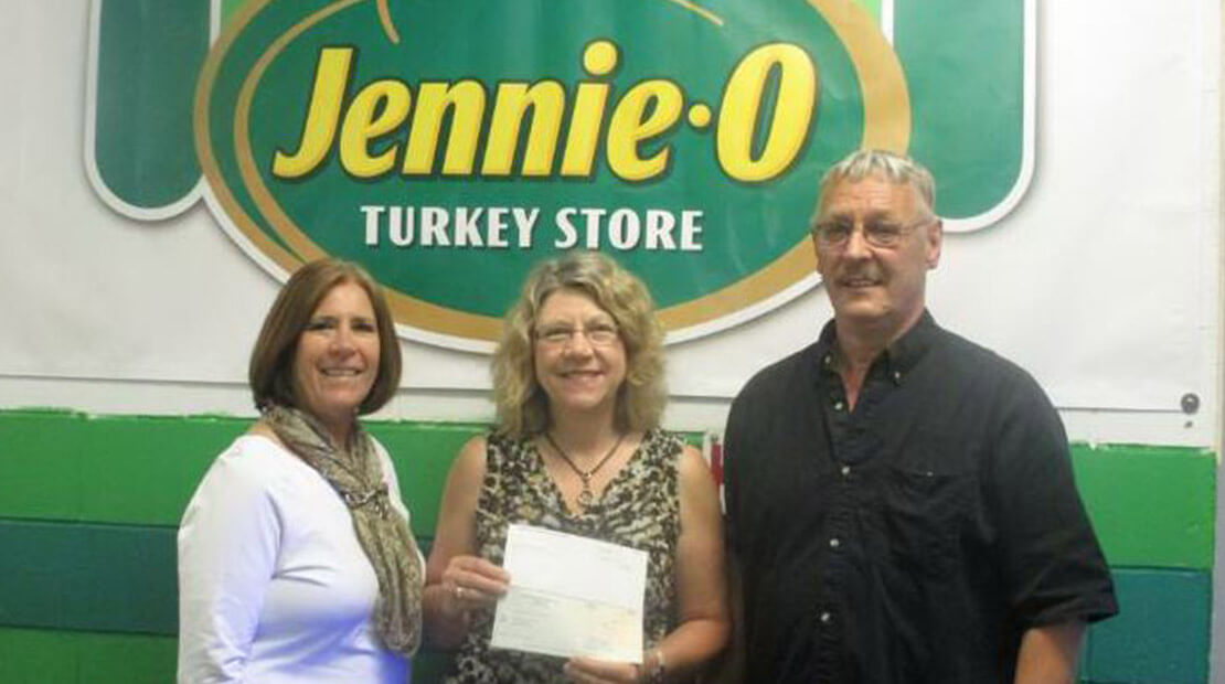 2015 Jennie-O Melrose Donation