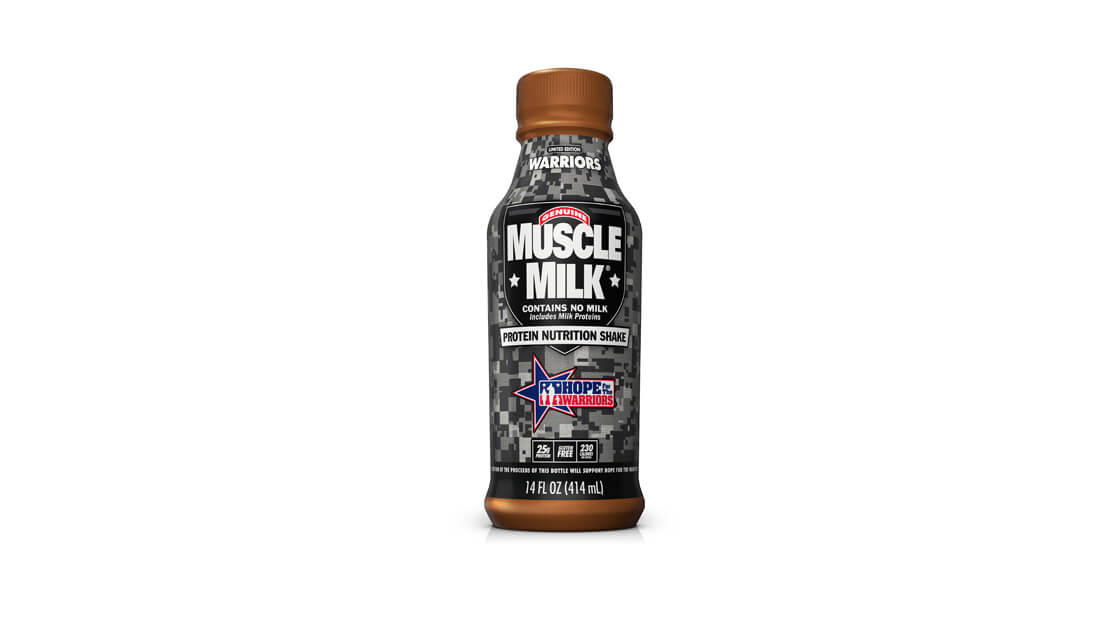 Muscle Milk Hope for Warriors Bottle